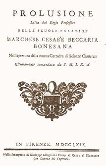 essay crimes punishment 1764